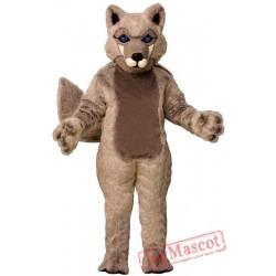 Roger Wolf Mascot Costume
