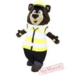 Carl Bear Mascot Costume