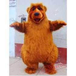Brown Bear Mascot Costume Adult Costume