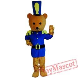 Brown Bear Mascot Costume Cartoon