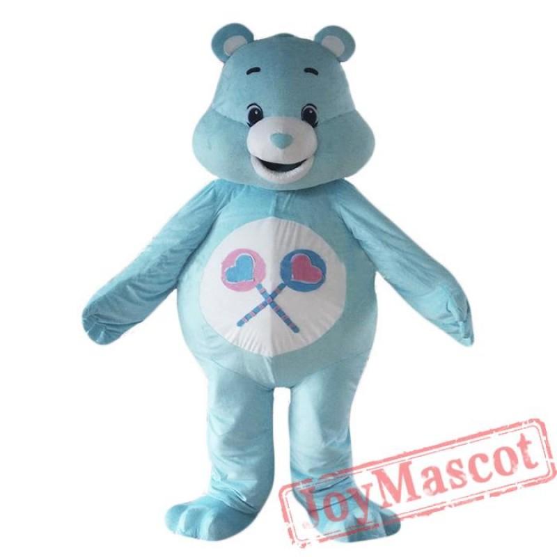 Cartoon Care Bear Mascot Costume Lucky Bear Costume For Adult