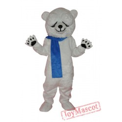 Polar Bear Adult Mascot Costume
