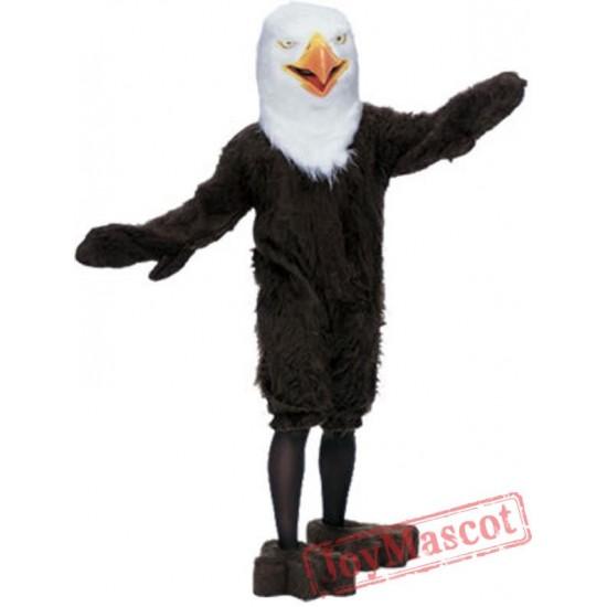 Adult Super Deluxe Mascot American Eagle Costume