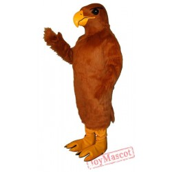 Golden Hawk Mascot Costume