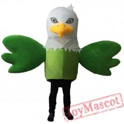 Green Eagle Mascot Costumes