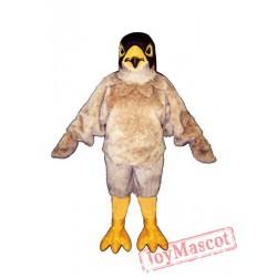 Tan Eagle Mascot Costume
