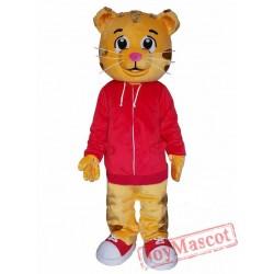 Cartton Tiger Mascot Costume