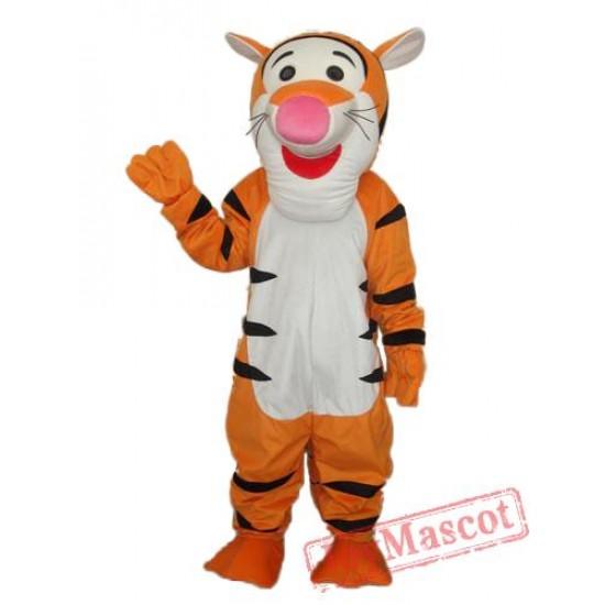 6Th Version Tigger Mascot Adult Costume