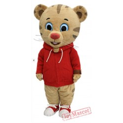 Daniel Tiger Mascot Costume