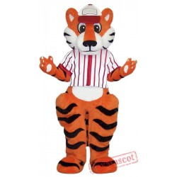 College Sport Tiger Mascot Costume