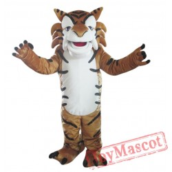 Forest Tiger Mascot Costume