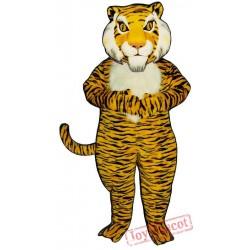 Jungle Tiger Mascot Costume