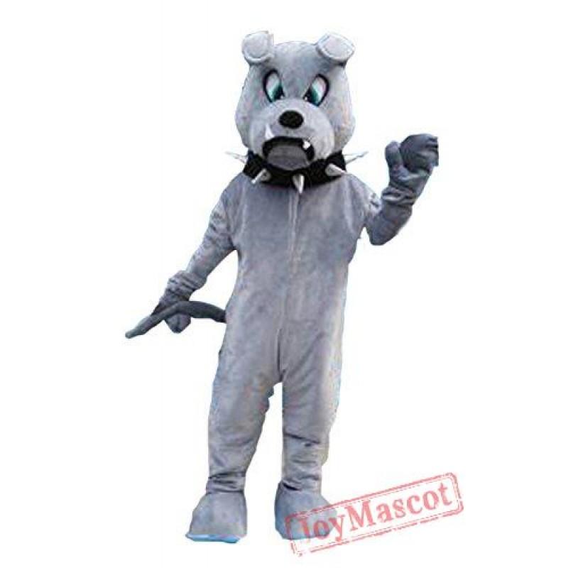 sc 1 st  Mascot & Grey Bulldog Mascot Costume
