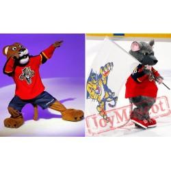 Florida Panthers Mascots Stanley C Panther Viktor E Ratt
