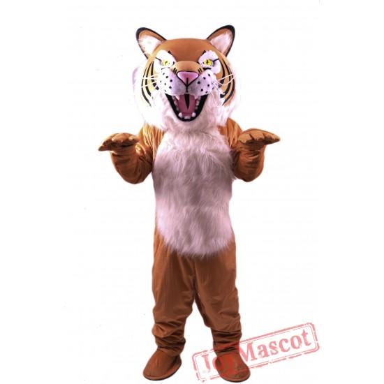 Fierce Wildcat Lightweight Mascot Costume