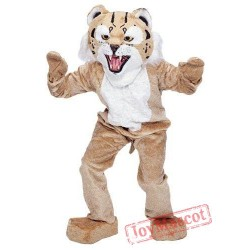 Big Wildcat Mascot Costume