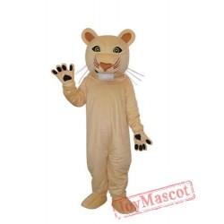 Cougar Mascot Adult Costume
