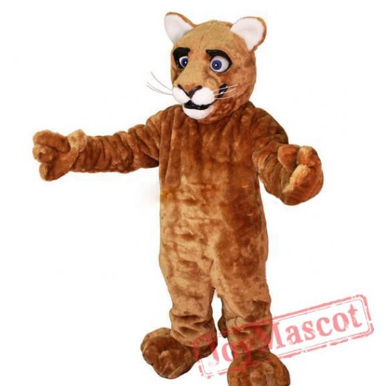 Little Leopard Panther Cat Cougar Cub Mascot Costume