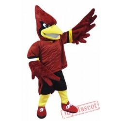 College Cardinal Mascot Costume