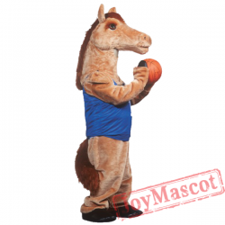 Mustang Mascot Costume