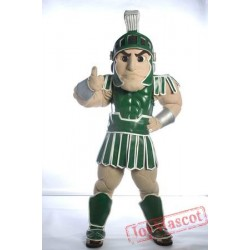 Spartan Trojan Knight Sparty Mascot Costume Shippping