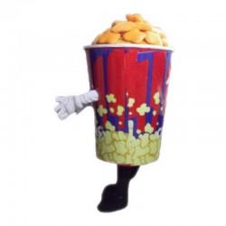 Popcorn Mascot Costume