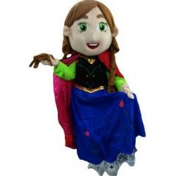 Princess Anna Mascot Costume