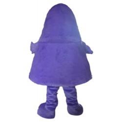 Purple Monster Mascot Costume