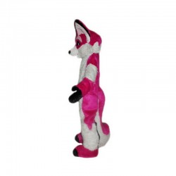 Rose Fox Mascot Costume