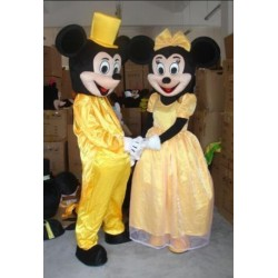 Mickey & Minnie Mouse Mascot Costume