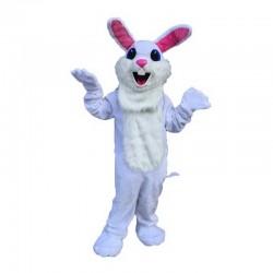 White Easter Bunny Mascot Costume