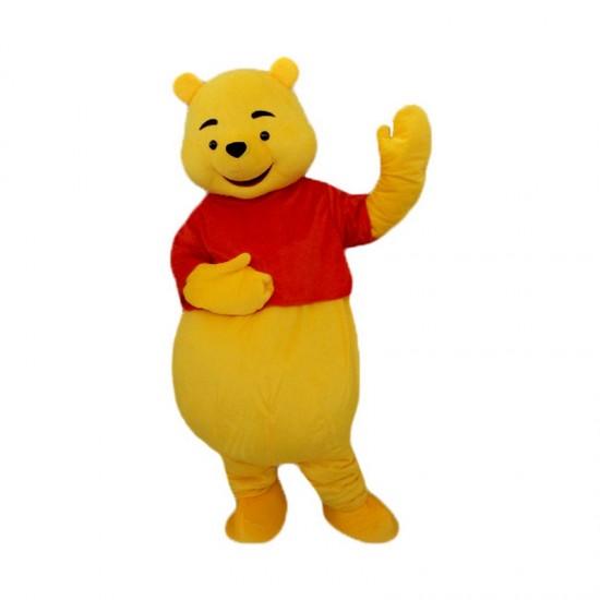 Winnie Pooh Bear Mascot Costume