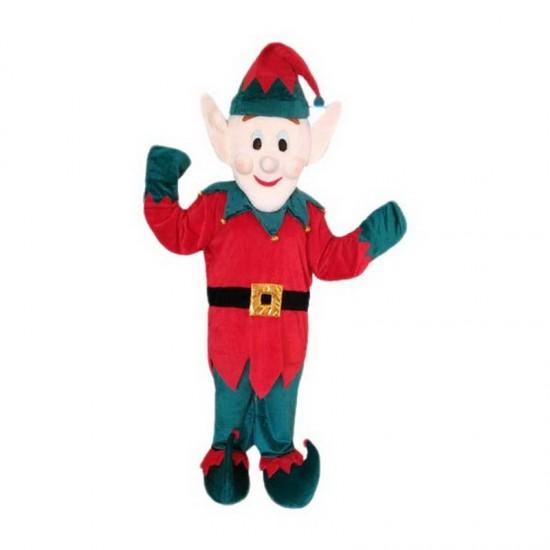 Wizard Dwarf Man Mascot Costume