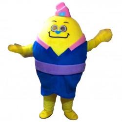 Yellow Monster Mascot Costume