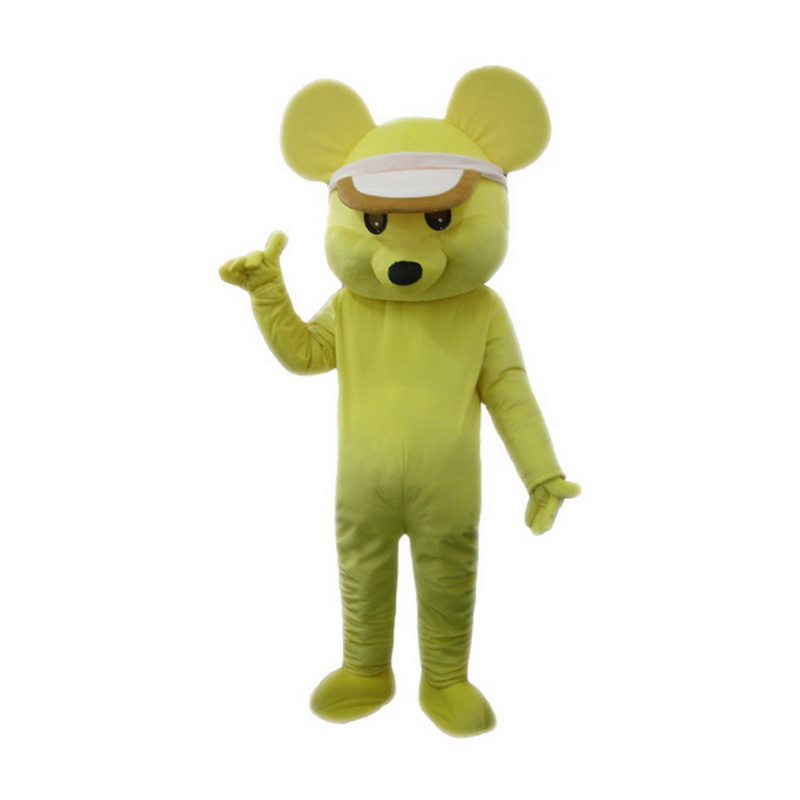 Yellow Mouse Mascot Costume  sc 1 st  Mascot Costumes & Mascot | Yellow Mouse Mascot Costume - Animal Mascot
