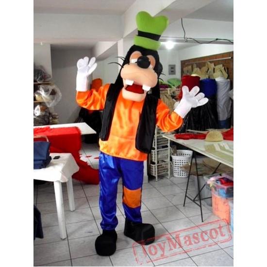 Goofy Dog Mascot Costume