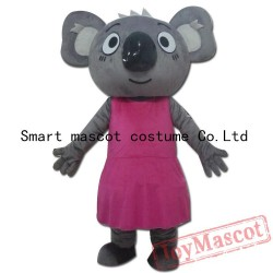 Pink Tree Shrew Mascot Costume Adult Tree Shrew Costume
