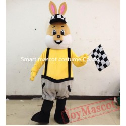 Mr Rabbit Costume Adult Men Bunny Mascot Costume