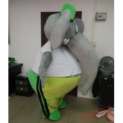 Big Fat Adult Elephant Mascot Costume For Adults