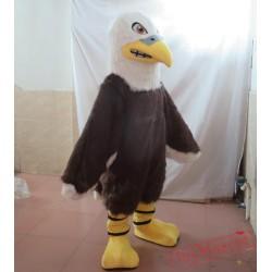 Furry Eagle Mascot Costume Adult Eagle Mascot