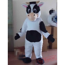 Cow Mascot Costume Adult Cow Mascot
