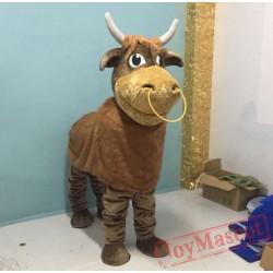 Cow Mascot Costume Wear Bull Costume For Adult