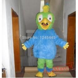 Adult Plush Parrot Mascot Costume