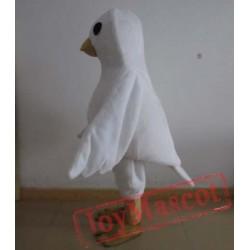 Adult White Bird Mascot Costume