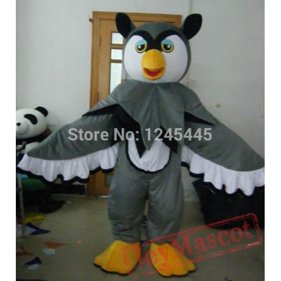 Grey Owl Mascot Costumes For Adult