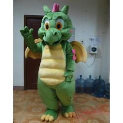 Green Dinosaur Mascot Costume For Adults Dinosaur Mascot Costume