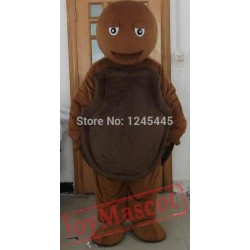 Brown Sea Turtle Mascot Costume T For Adults