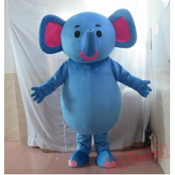 Blue Elephant Mascot Costumes For Adults