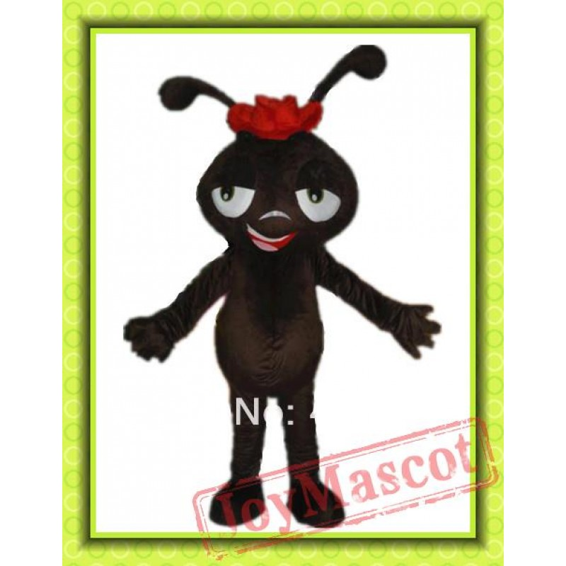 sc 1 st  Mascot Shop & Coffee Colour Ant Mascot Costume For Adult