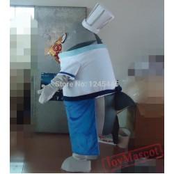 Adult Big Fish Mascot Costume